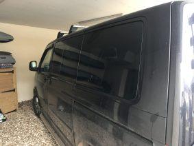 VW Caravelle Rear Quarter Tint Global QDP window film