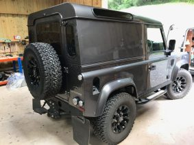 Land Rover Defender Window Tint Global QDP