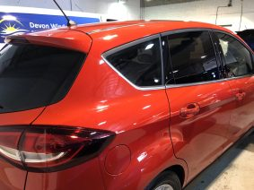 Ford C-Max limo black window tint.