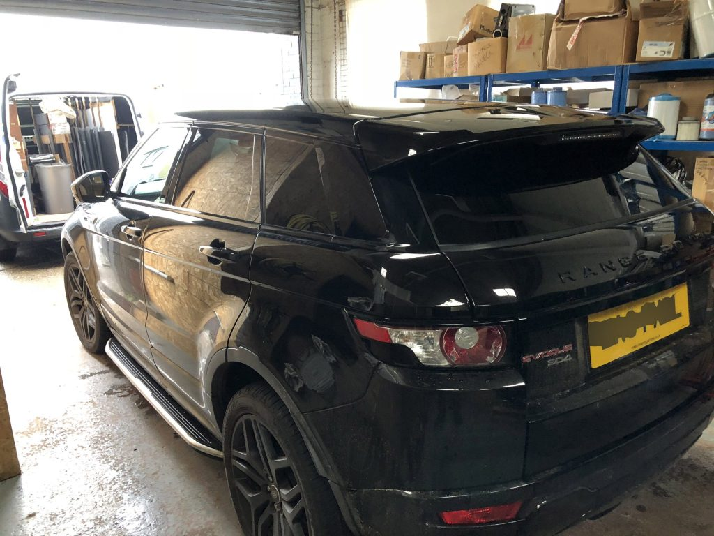 Evoque Window Tinting Global QDP 05