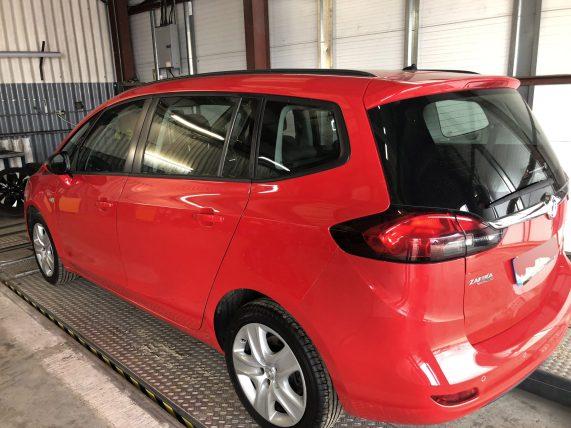 Vauxhall Zafira Tourer Window Tint