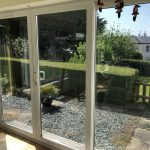 Johnson Daylight Natural 60 Window Film, all three windows with DN60 applied, www.devonwindowtinting.co.uk