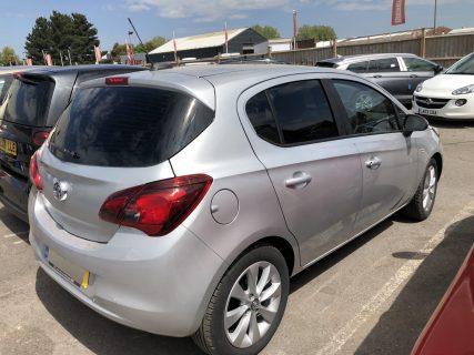 Vauxhall Corsa 5dr Window Tint