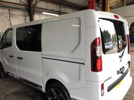 Vauxhall Vivaro Limo Black Tint