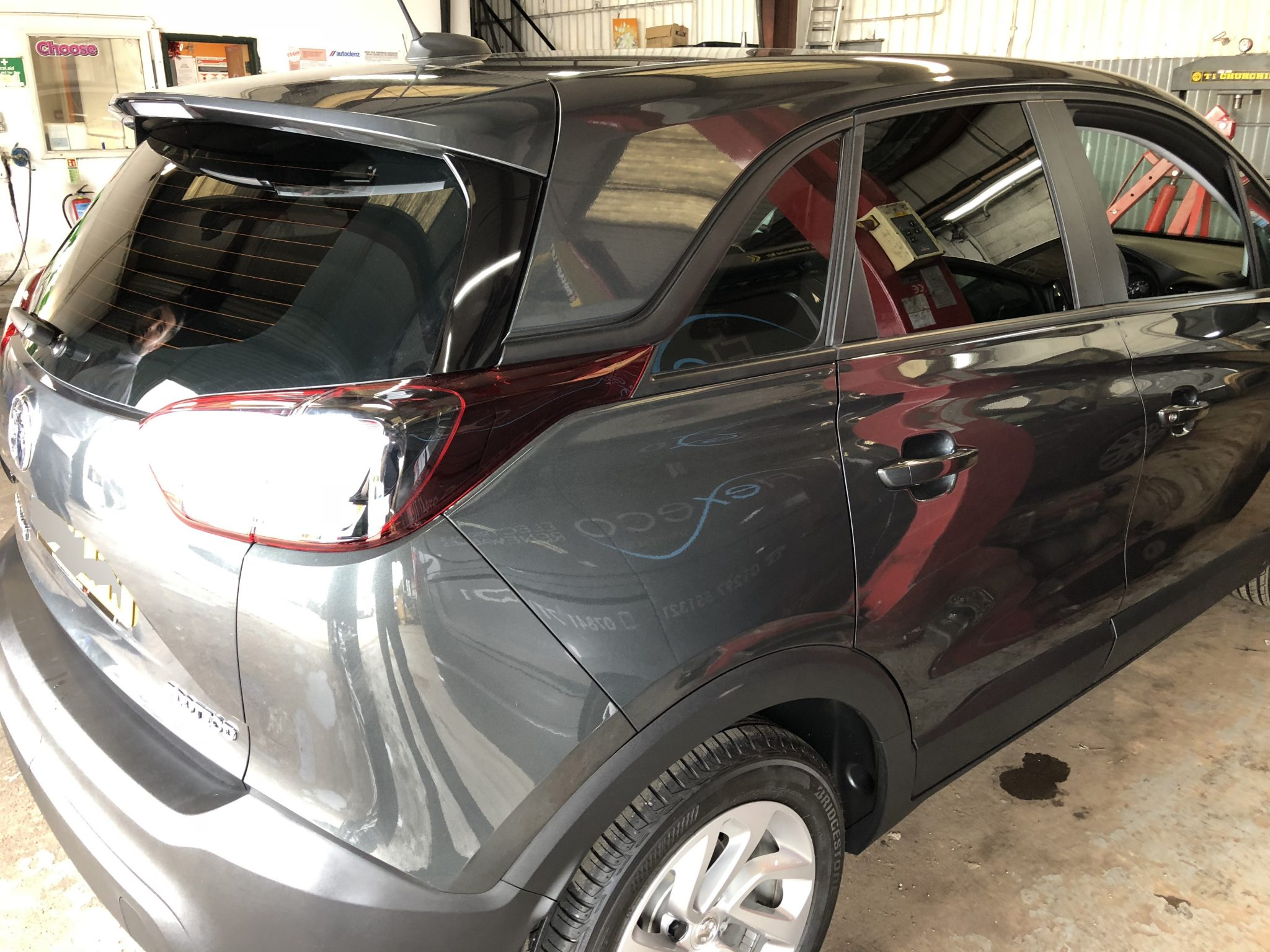 Vauxhall Crossland Window Tint