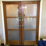 Frosted Privacy film for internal or external doors and windows