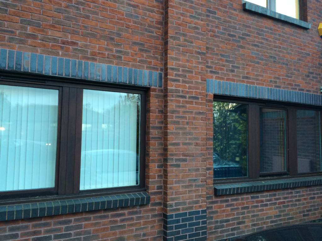 Hanita Silver 20 window film for office privacy at Pynes Hill, Exeter