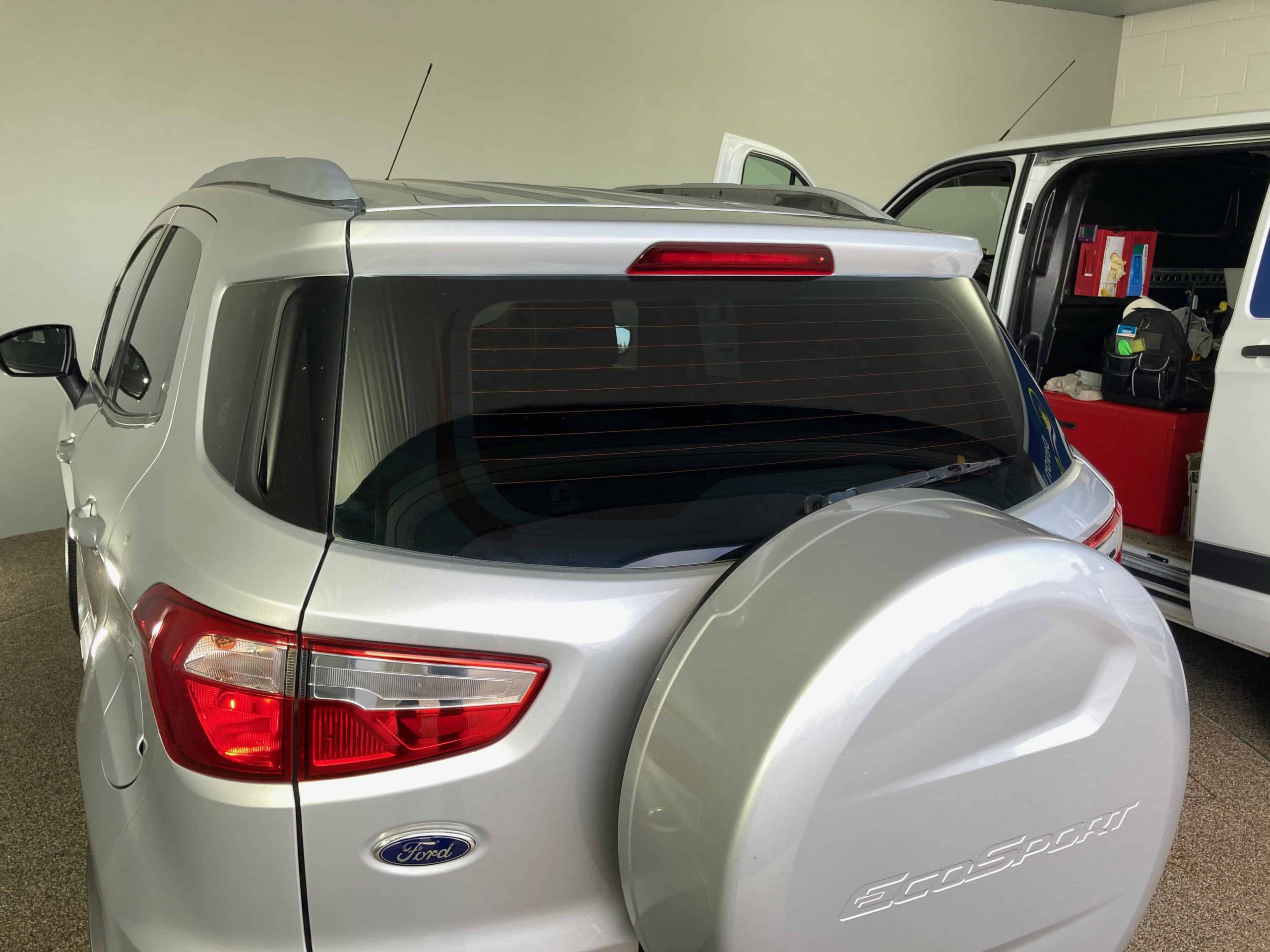 Ecosport window tint