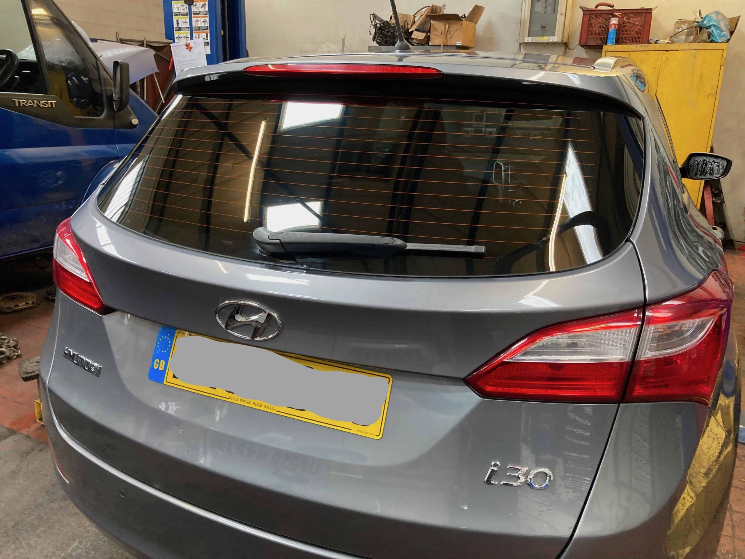 Hyundai i30 window tint