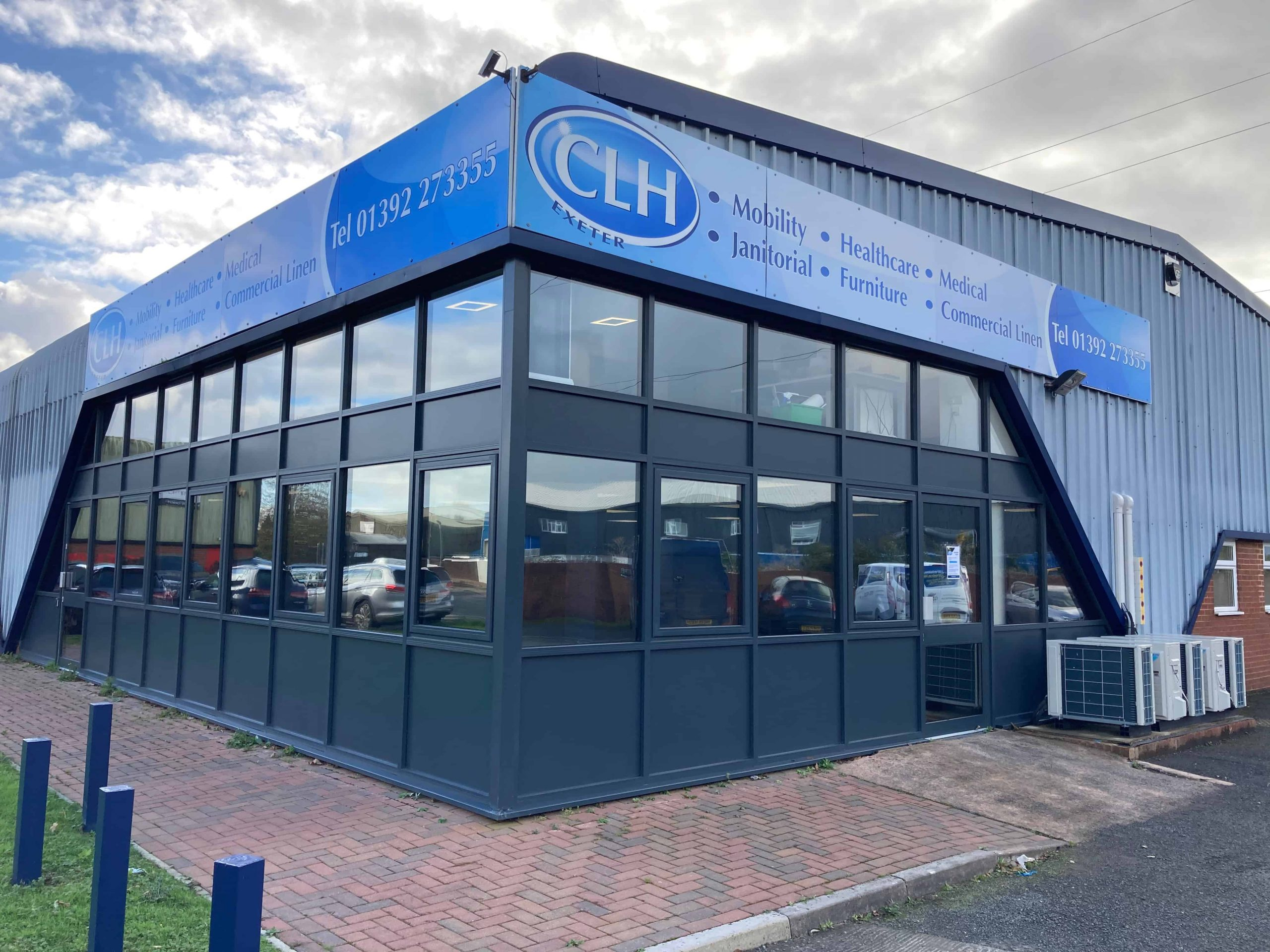 Johnson Nightscape 15 office window film in Exeter