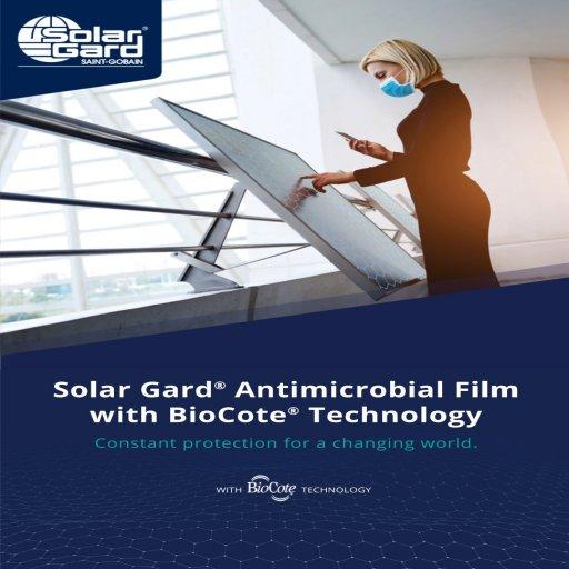 Solar Gard Antimicrobial Film with Biocote® Technology
