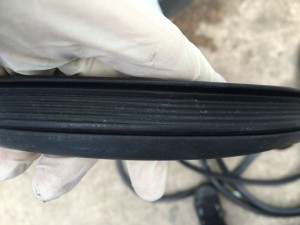 Genuine VW T25 Rubber