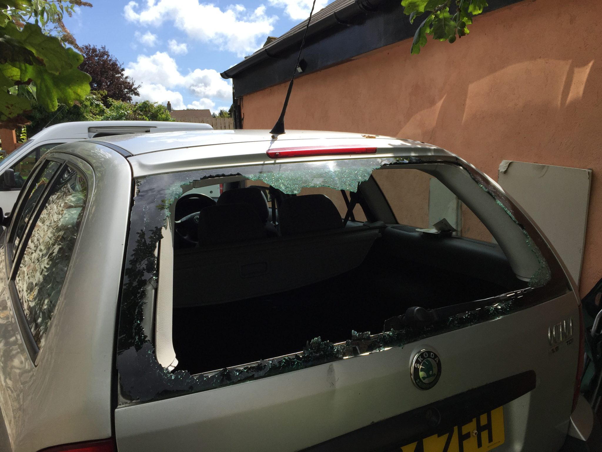 Skoda Octavia Rear Windscreen