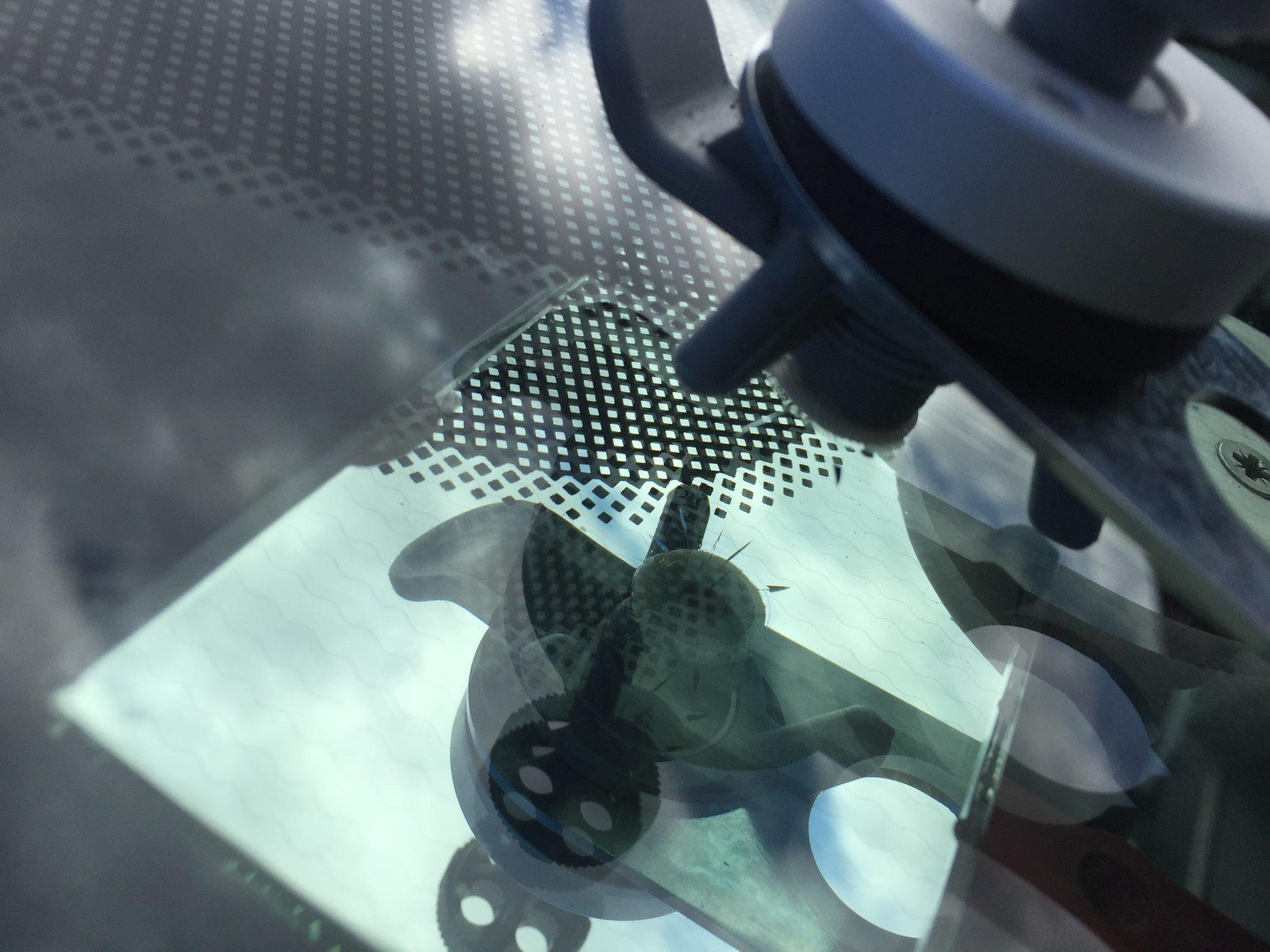 Windscreen Chip Repair Process 1