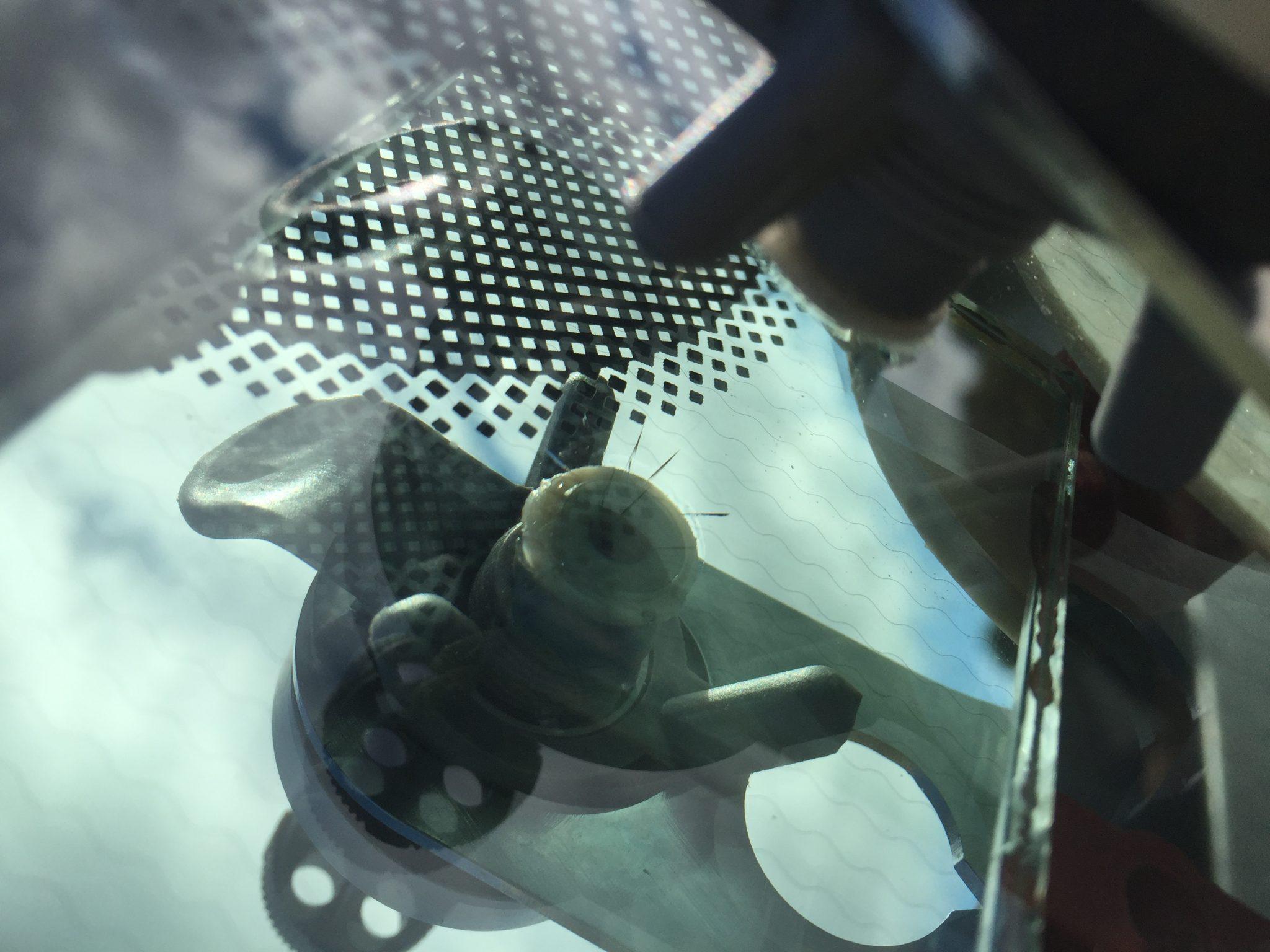 Windscreen Chip Repair Process 3