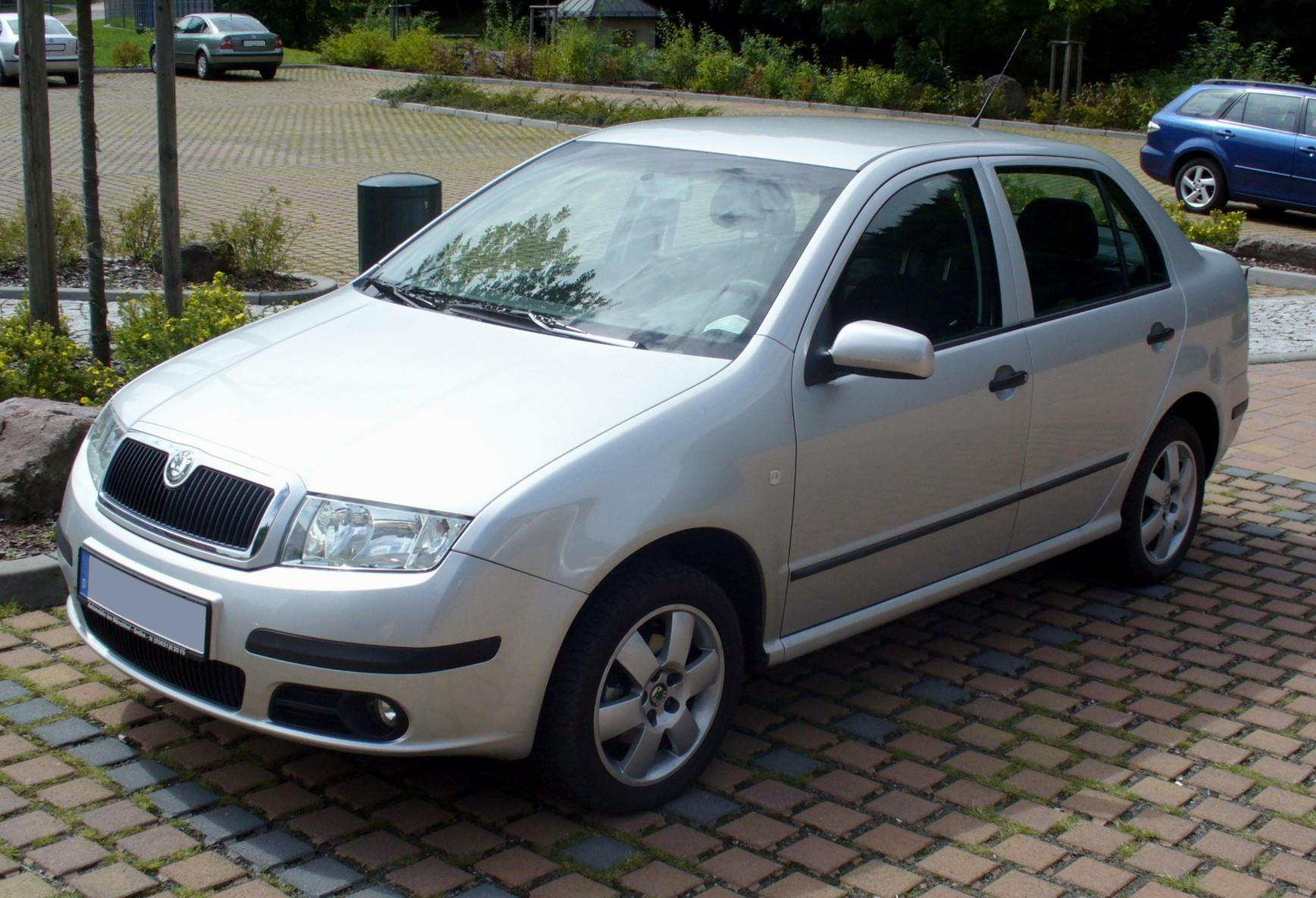 Skoda Fabia Door Glass