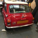 rover mini rear window