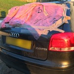 Audi A3 Rear Window