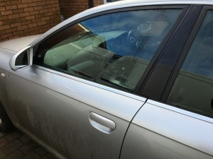 Audi A6 Repaired Doorglass