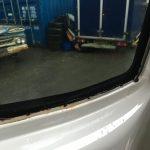 VW T5 Panel Damage Rust