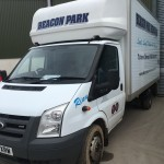 Ford Transit Luton Windscreen