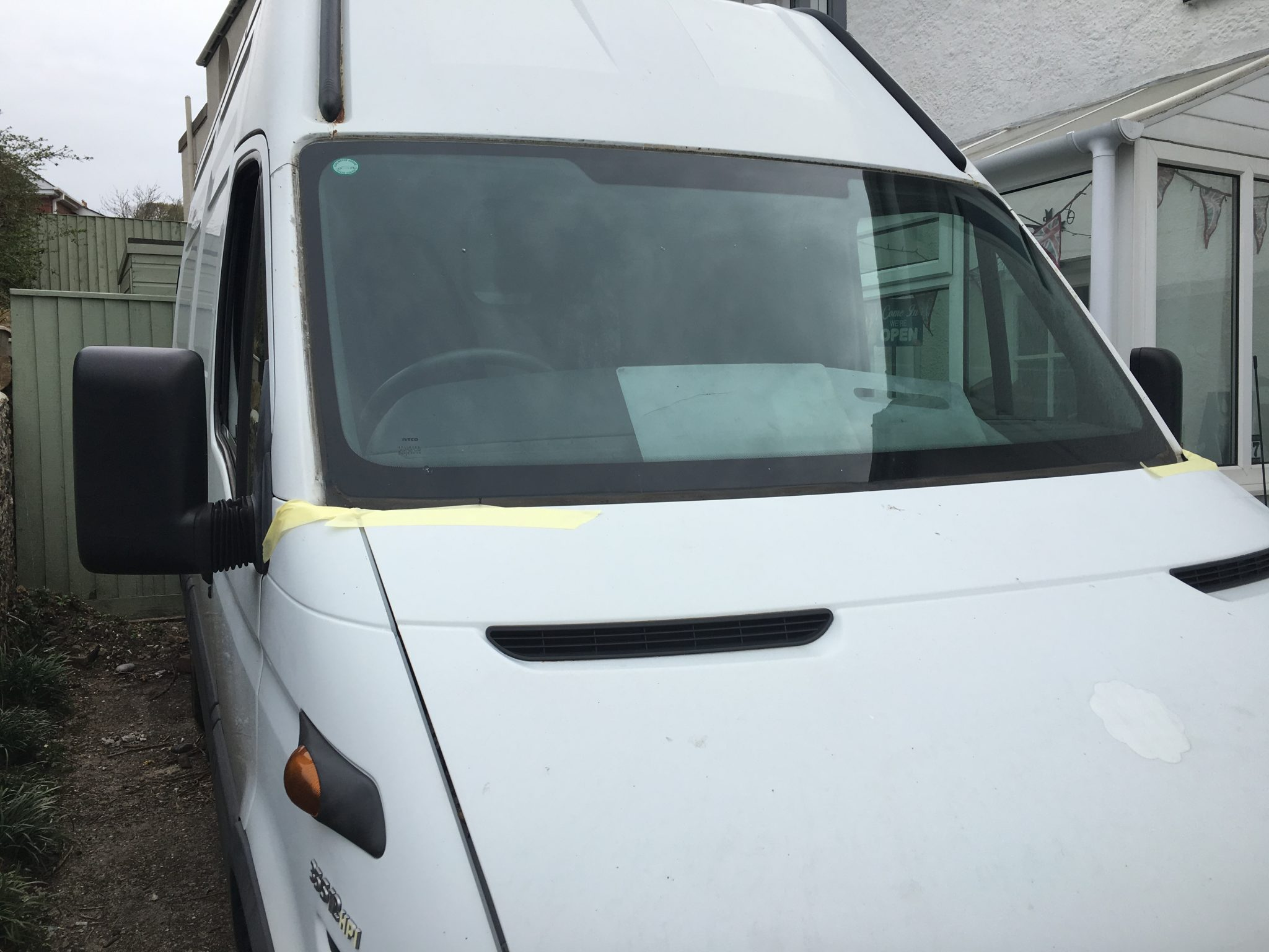 Iveco Daily II Windscreen