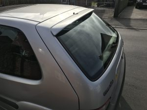 Saxo Rear Windscreen