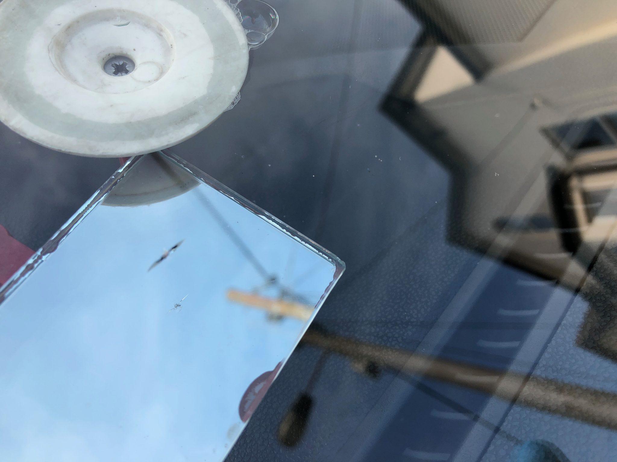 Mercedes A-Class Windscreen Chip Repair
