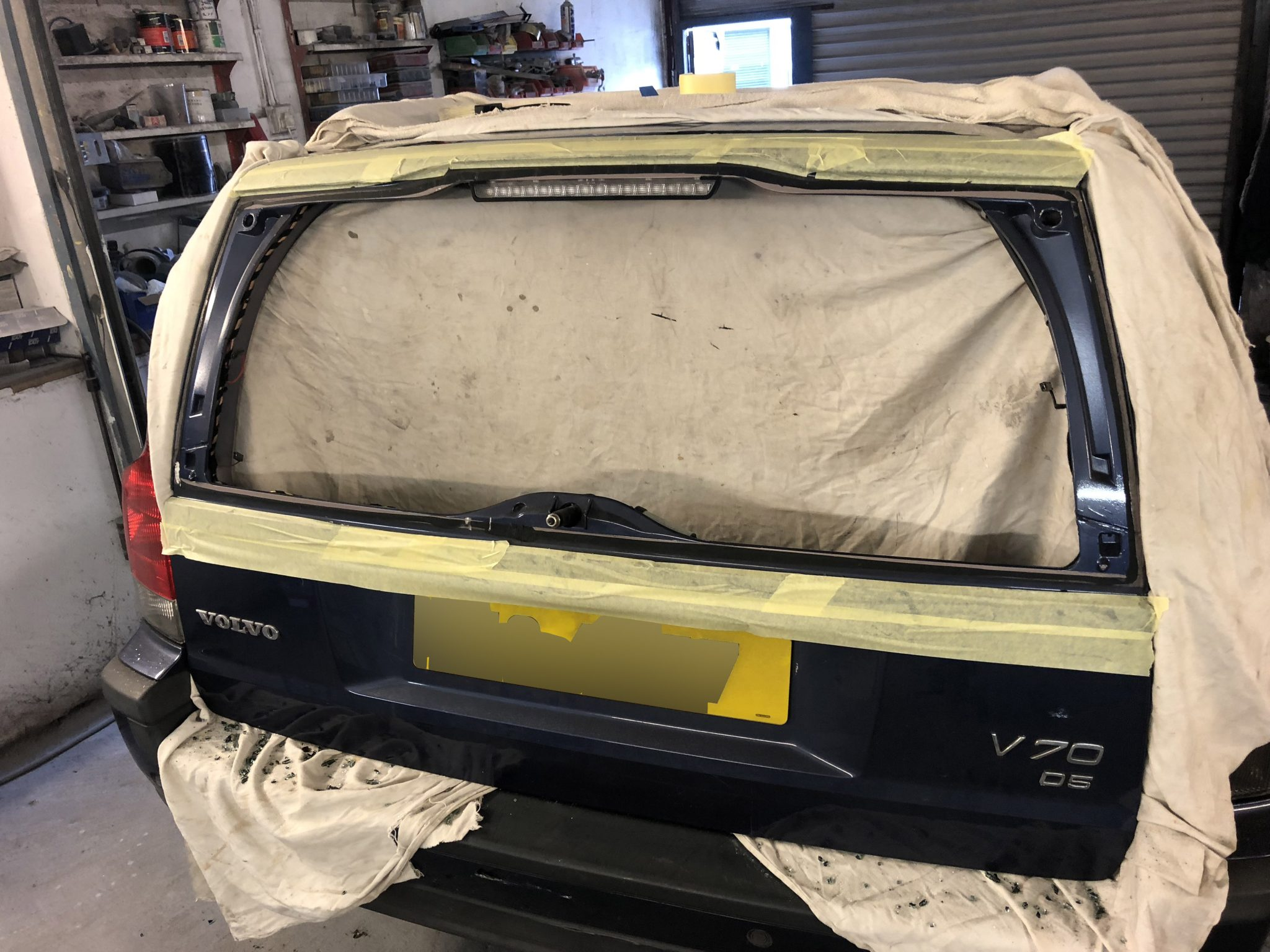Volvo V70 Heated Rear Windscreen