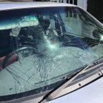 Vandalised Windscreen Newton Abbot