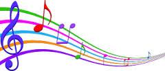music in air