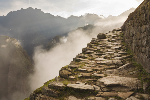 Stone Inca trail