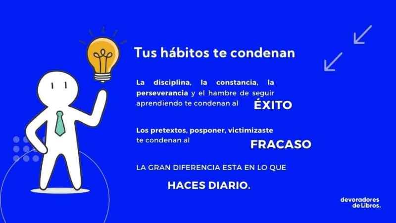 Habitos: la clave del exito