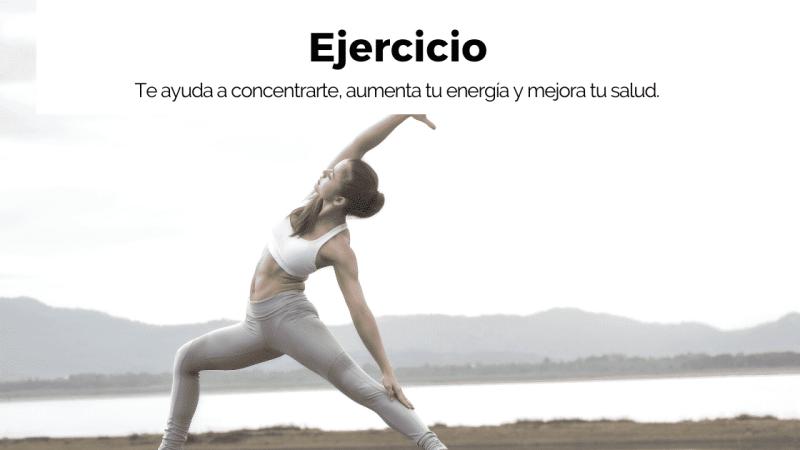 Beneficio del ejercicio mañanas milagrosas