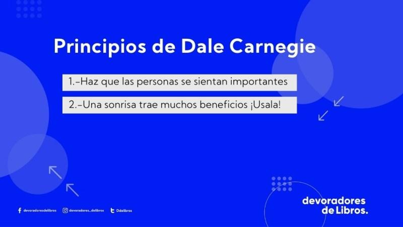 Principios de Dale Carnegie