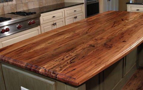 Spalted Pecan Wood Countertop Photo Gallery By DeVos