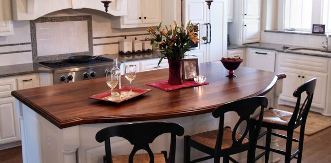 Best Finish For Butcher Block Countertop: Wood Countertop Island
