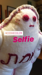 Cookie Golem/et #3 taking a selfie