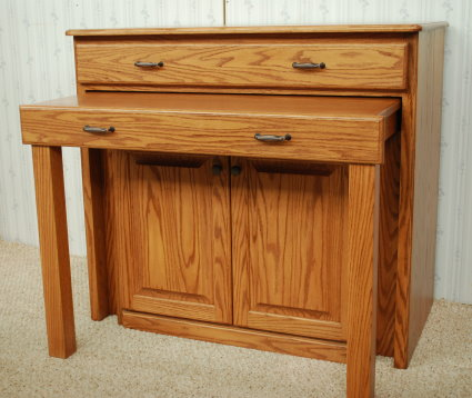 Pull Out Table Buffet De Vries Woodcrafters