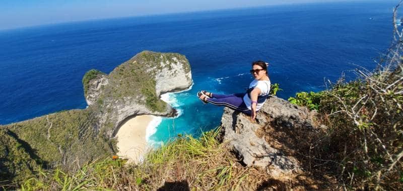 Klingking Beach Nusa Penida - Rental Motor Nusa Penida | Rent Dirty Bike Sensasi Liburan Di Bali 3 Nusa