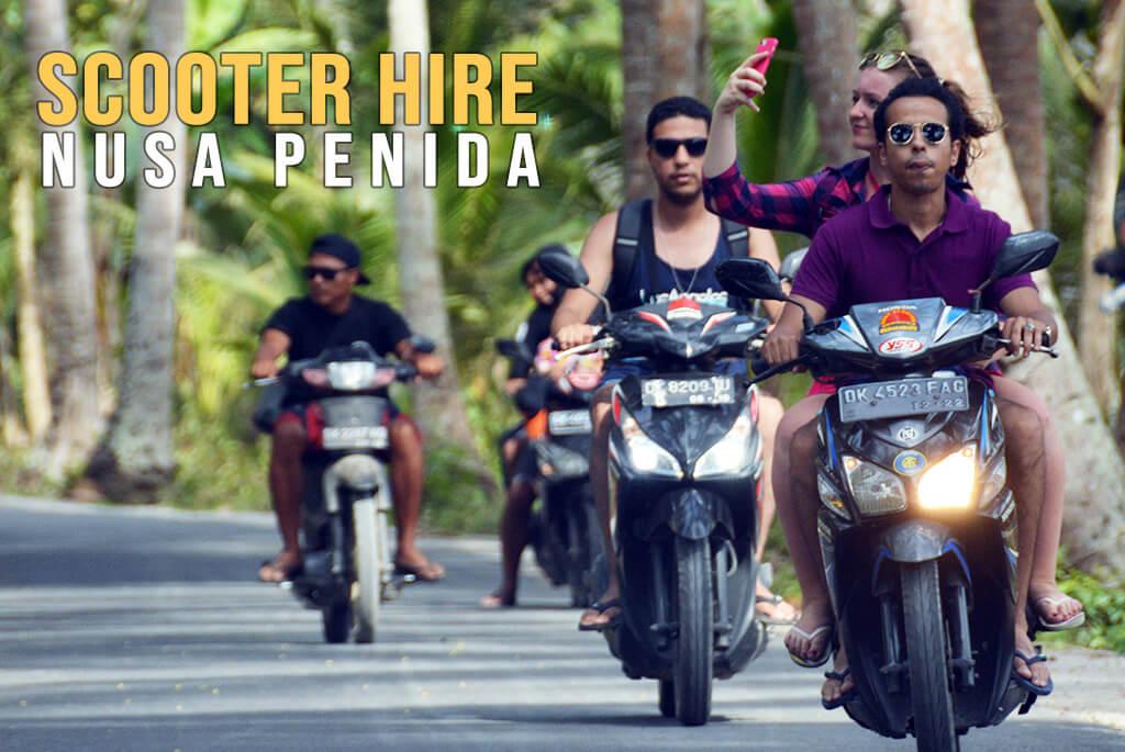 Scooter Hire Nusa Penida - Sewa Motor Bali