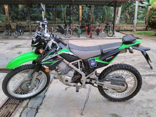 Sewa Kawasaki KLX Bali | Dapatkan Keseruan Liburan Outdoor