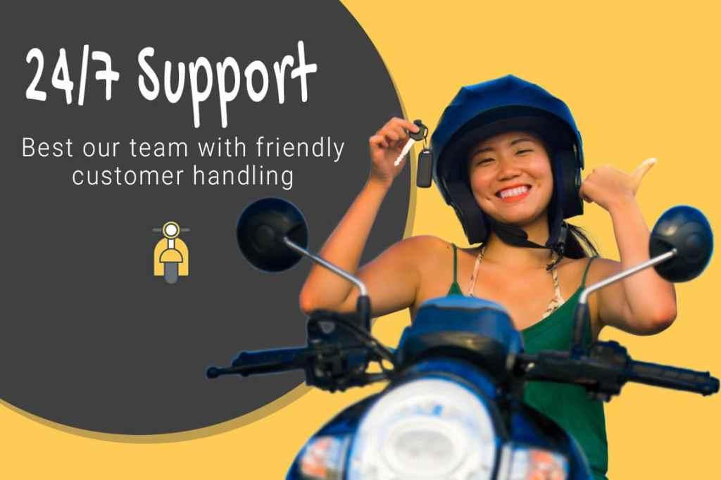 Support motor bali rental
