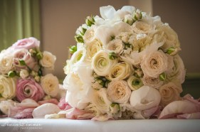 brides-and-bridesmaids-bouquet-on-table-kensington