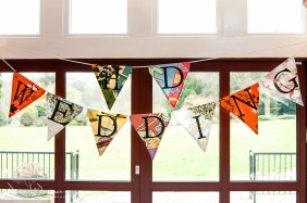 fun Wedding Bunting