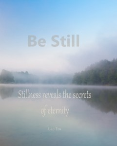 Quotes on Stillness - Lao Tzu