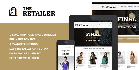 The Retailer tema Wordpress para crear tienda online