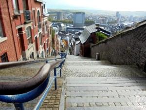 De gekste plek van Belgie: trappen in Luik