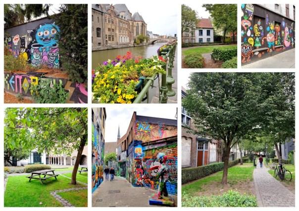 Stadswandeling in Gent Graffitiwandeling Gent