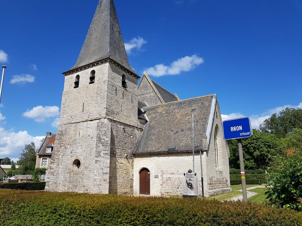 Mene- en Jordaanwandeling Kerk in Hoksem, 14de eeuw